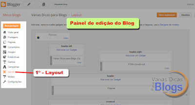 Adicionando links externos no Widget páginas do Blogspot