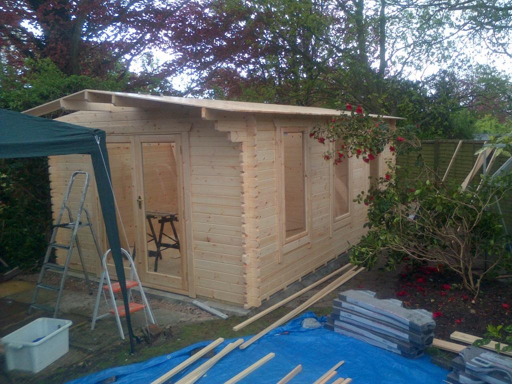Southwick 39 s garden offices insulated garden studio for Insulated garden office