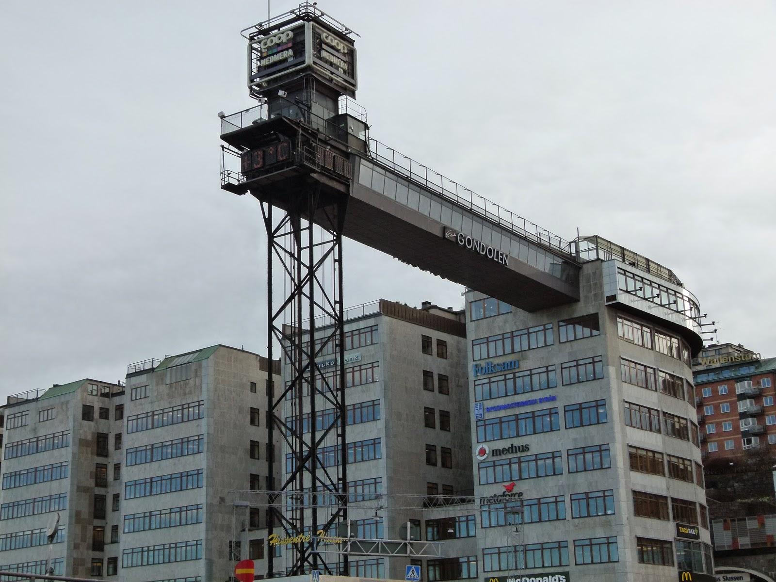 best viewpoints in stockholm katarinahissen slussen