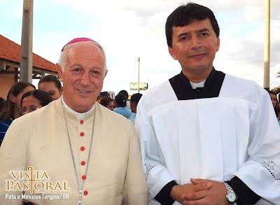 Visita pastoral, Dom Mariano visita a paroquia de Patu - RN