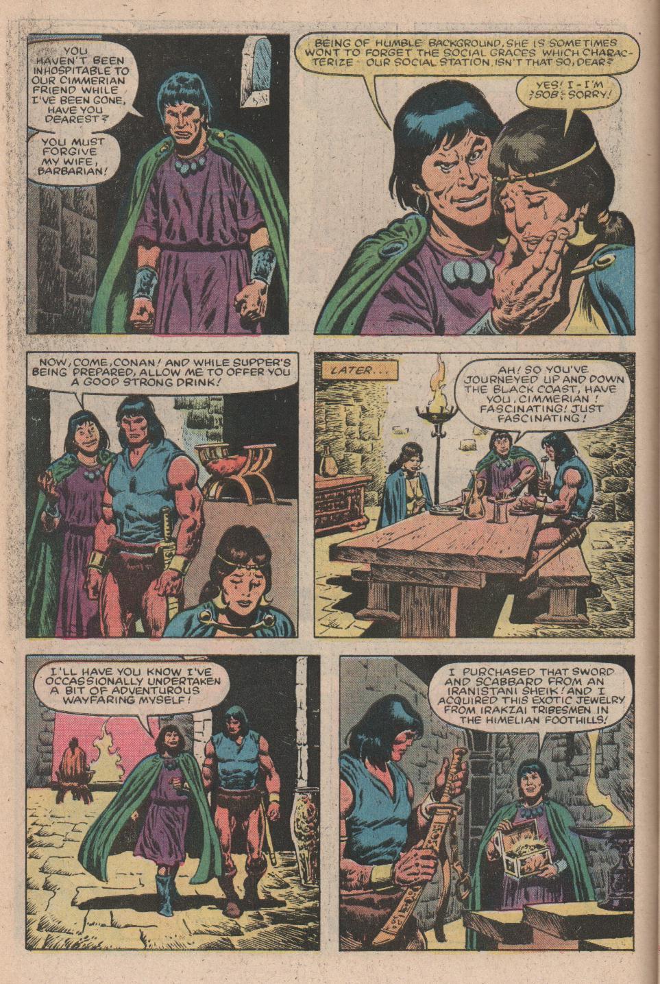 Conan the Barbarian (1970) Issue #156 #168 - English 5