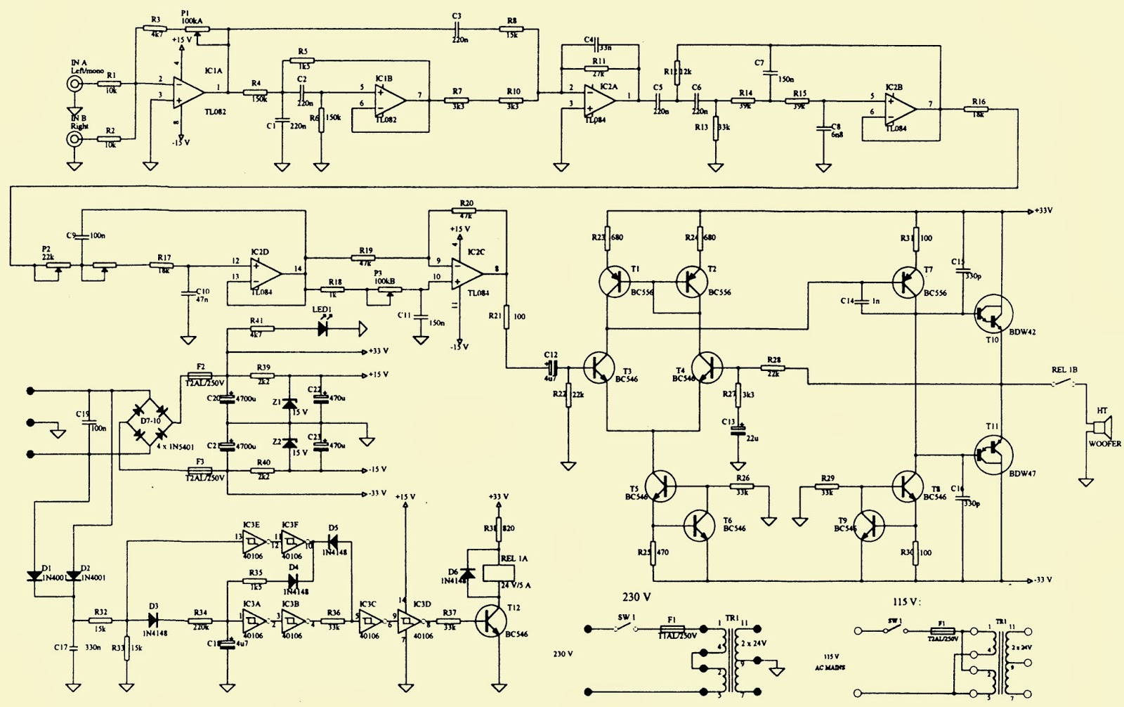 jamo sub 250 circuit diagram image