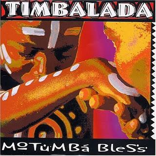 """Capa do disco """"Motumbá Bless"""", lançado em 2002 pela Timbalada."""