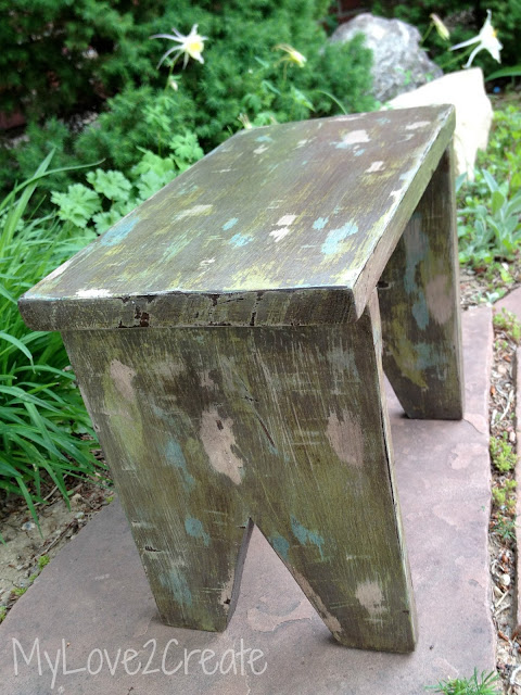 MyLove2Create, Vintage DIY Step Stool