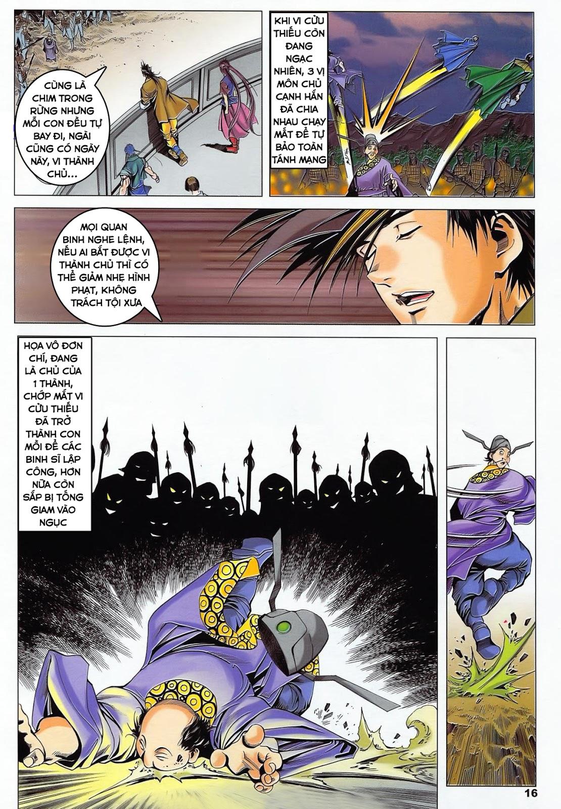 Lục Đạo Thiên Thư chap 36 - Trang 16