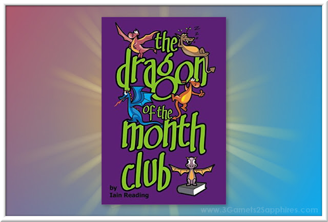 The Dragon of the Month Club - Tween Book Review  |  www.3Garnets2Sapphires.com