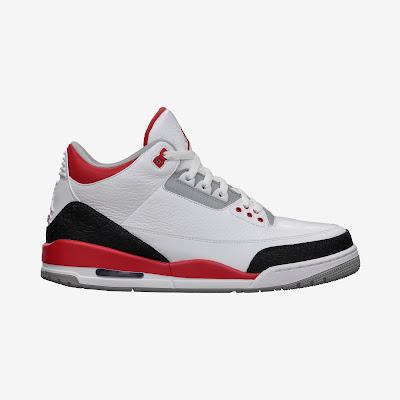 Air Jordan 3 Retro Men's Shoe # 136064-120