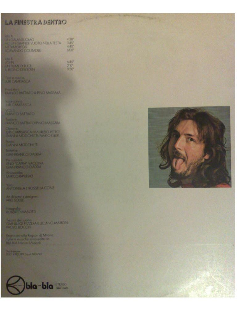 Verso la stratosfera serie cantautori ai margini n 2 juri camisasca 1974 la finestra - La finestra album ...