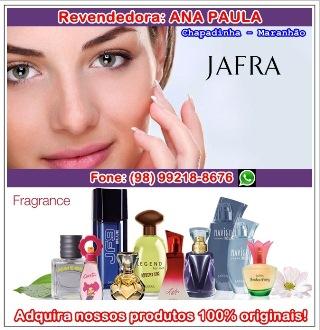 ANA PAULA - Revendedora/JAFRA
