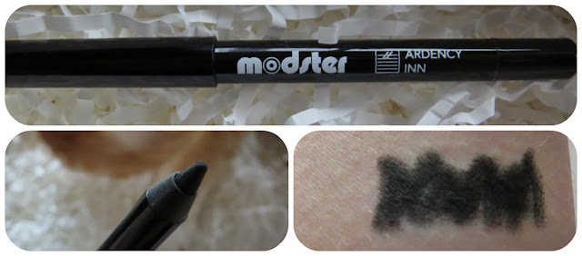 Ardency Inn Modster Smooth Ride Supercharged Eyeliner in Black
