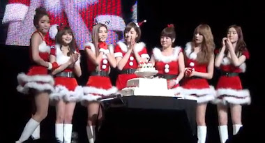 Video Fancam Xmas Event T-ara di Jepang