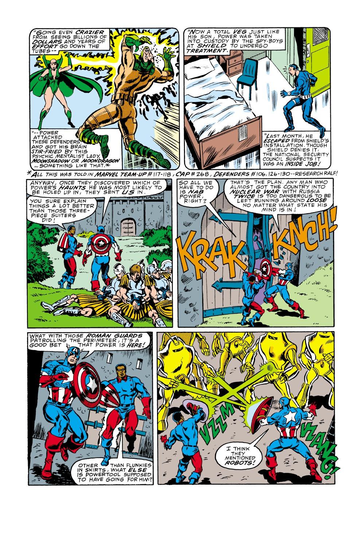 Captain America (1968) Issue #338 #267 - English 5
