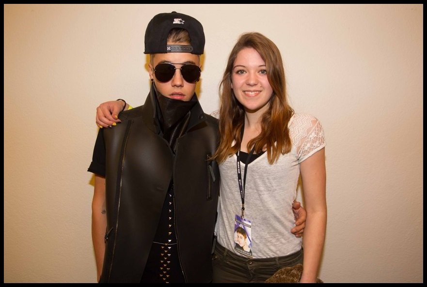 images of Justin Bieber From Meet And Greet Zurich
