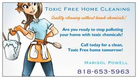 Om Chef recommended : <br>Toxic Free Home Cleaning and Organizing