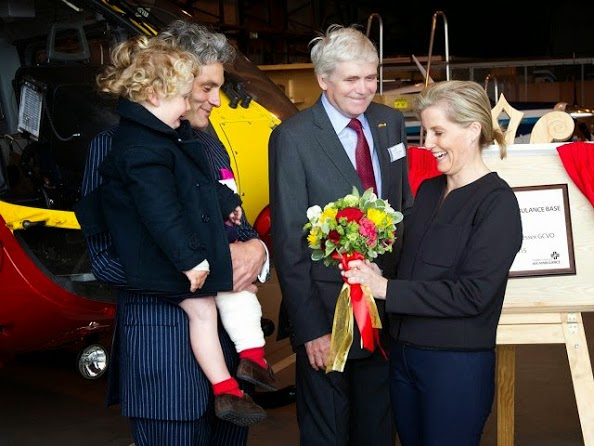 Sophie, Countess Of Wessex Opens New Air Operating Base At Thames Valley Air