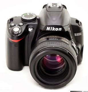 Kamera Digital Nikon D3000