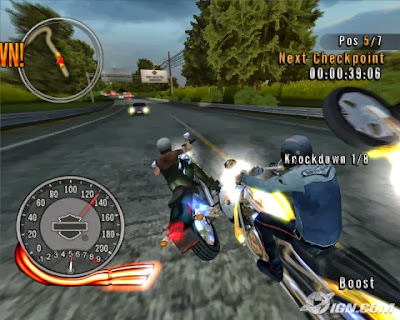 Free Download Harley Davidson Race Around The World Game