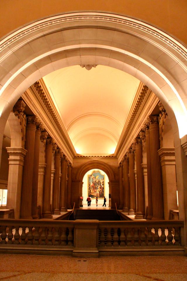 metropolitan museum hallway