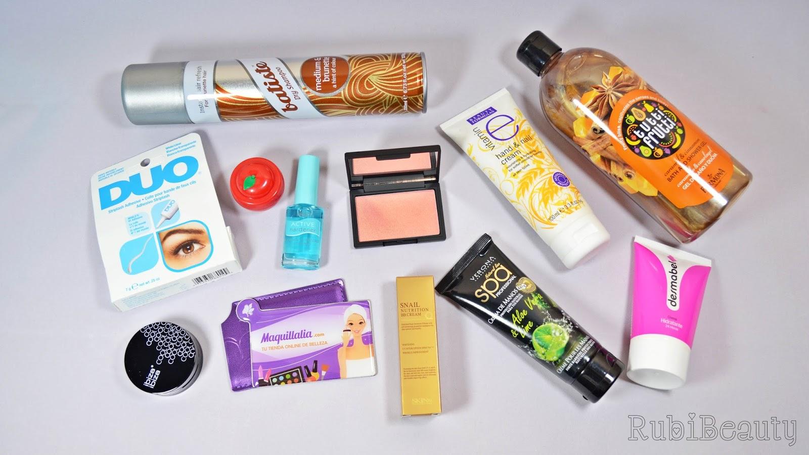 rubibeauty compras black friday maquillalia primor 2014
