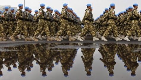 Indonesia-Thailand kursus bersama Pasukan Perdamaian PBB