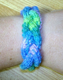 Crochet Braided Bangle