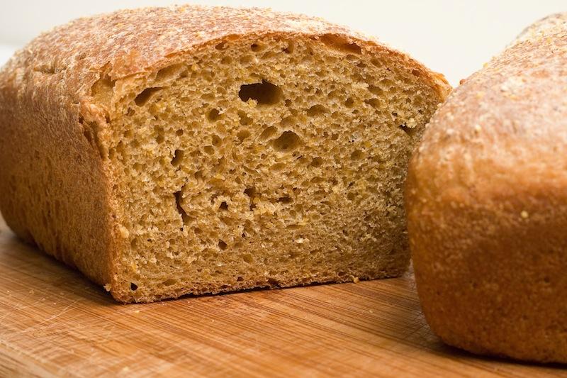 Anadama bread should be dark and sweet tasting