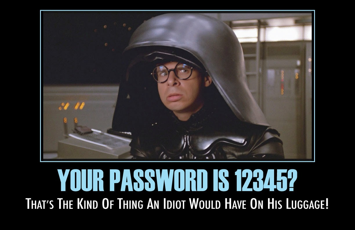 Your Password is 12345?