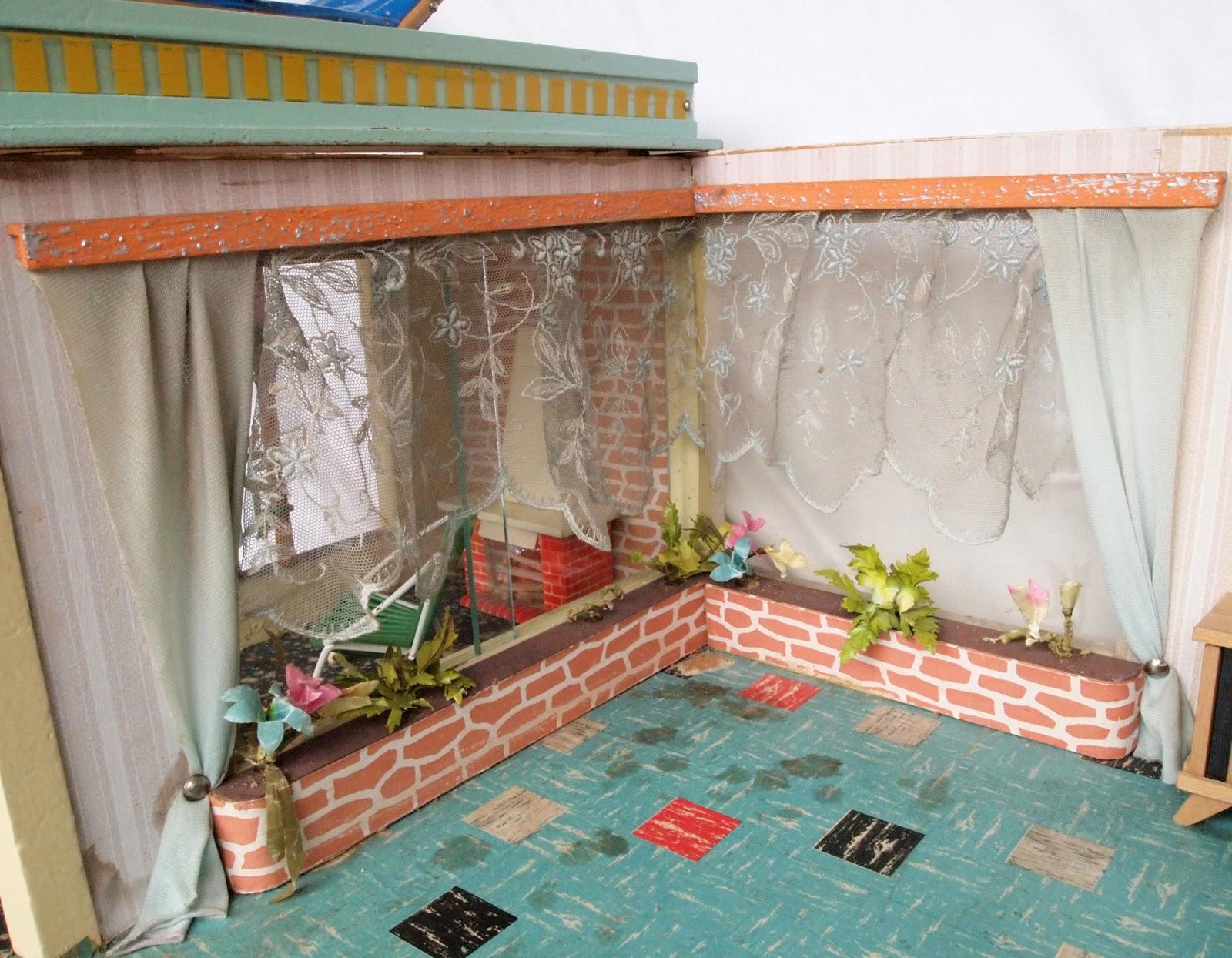 diepuppenstubensammlerin blumenfenster flower windows. Black Bedroom Furniture Sets. Home Design Ideas