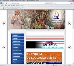 Site oficial da Assembleia de Deus em Rio Branco