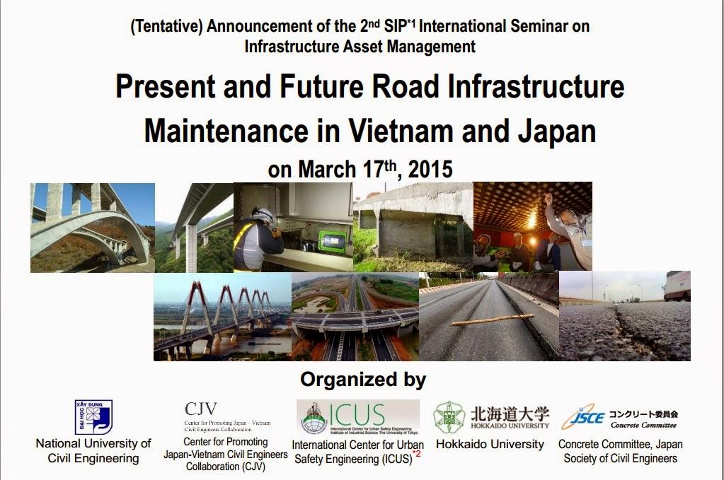 Hội thảo Bảo trì hệ thống đường bộ hiện tại và tương lai của Việt Nam và Nhật Bản