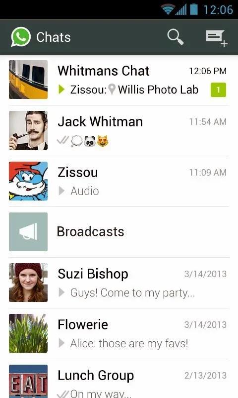 WhatsApp Messenger v2.11.261