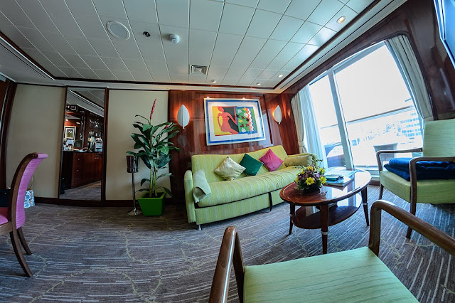 Suite 14014 on the Norwegian Pearl