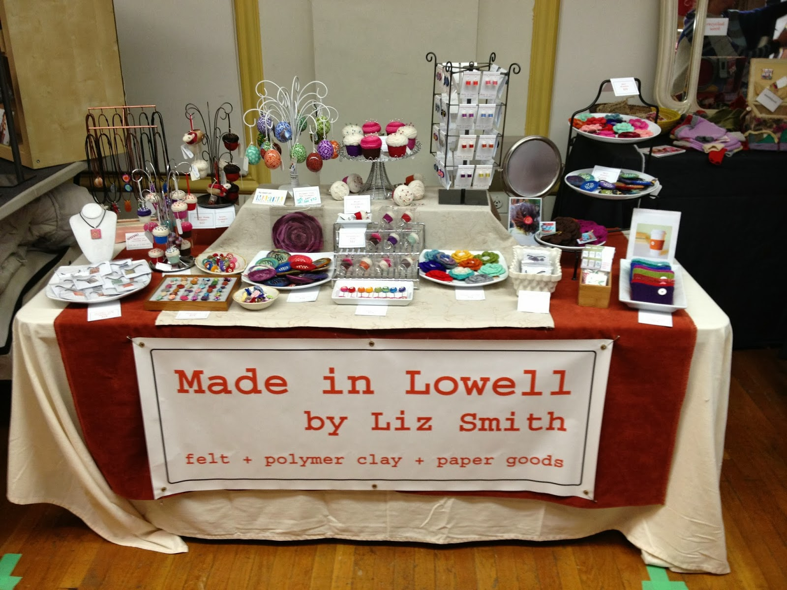 Christmas Craft Show Ideas Part - 36: Six Foot Table Craft Show Set Up