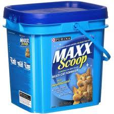 Purina Maxx scoop cat litter
