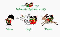 Guest Designer for Sister Stamps Release #17