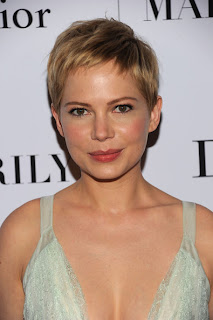 Short hairstyle Inspiration From Celebrity Michelle Williams
