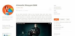 Alexander Wang pre H&M (Módne Maniačky)
