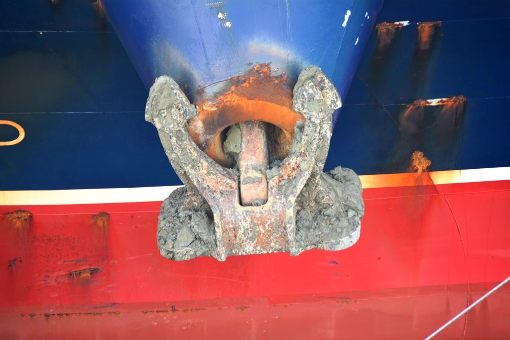 Gatun Locks Panama Canal anchor