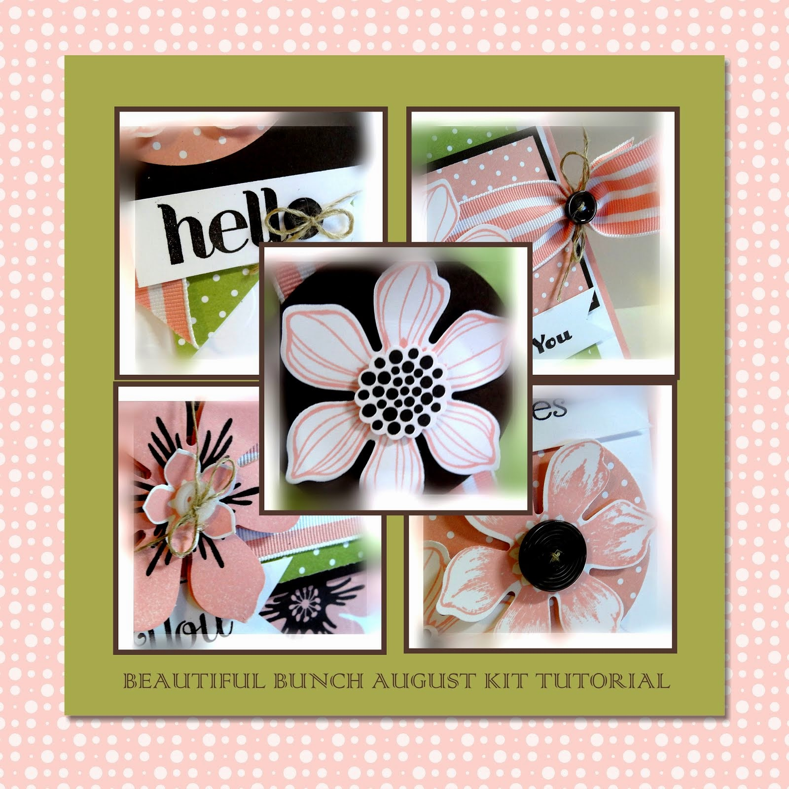 August 2014 Beautiful Bunch Tutorial