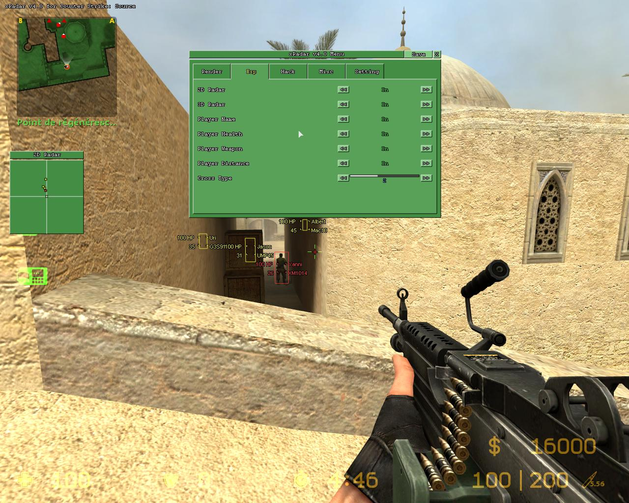 how to put console in counter strike
