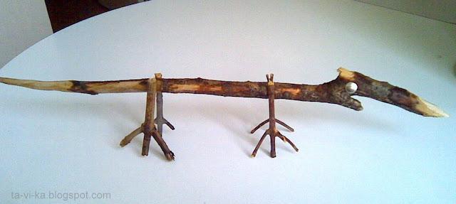 поделки из природного материала nature craft