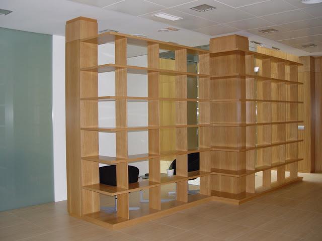 Estanter as de madera espacios en madera - Estanterias de madera a medida ...