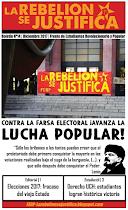 La Rebelión se Justifica N°14, Diciembre 2017