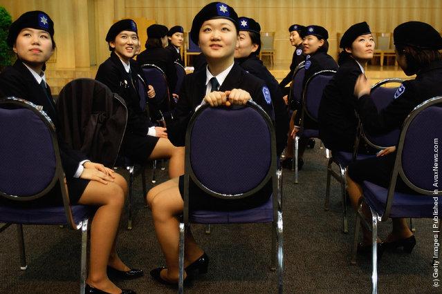 Foto foto Tentara Wanita Korea yang Tangguh dan Cantik