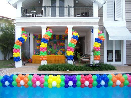 decoracao em piscina 2