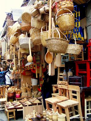 Handmade Baskets, Eminönü, Istanbul