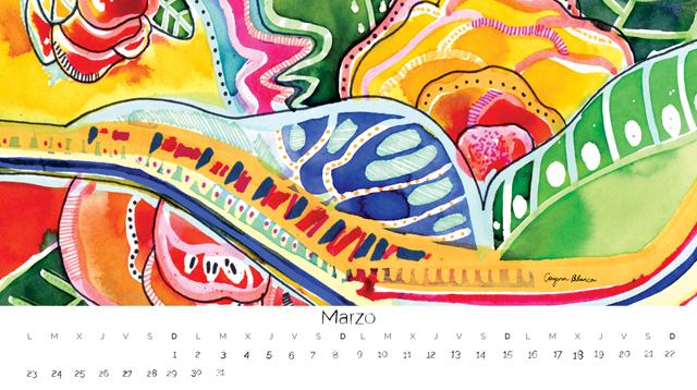 Cayena Blanca - Wallpaper marzo 2015