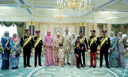 Sultan Brunei juga tidak dayus menjaga aurat tanggungannya