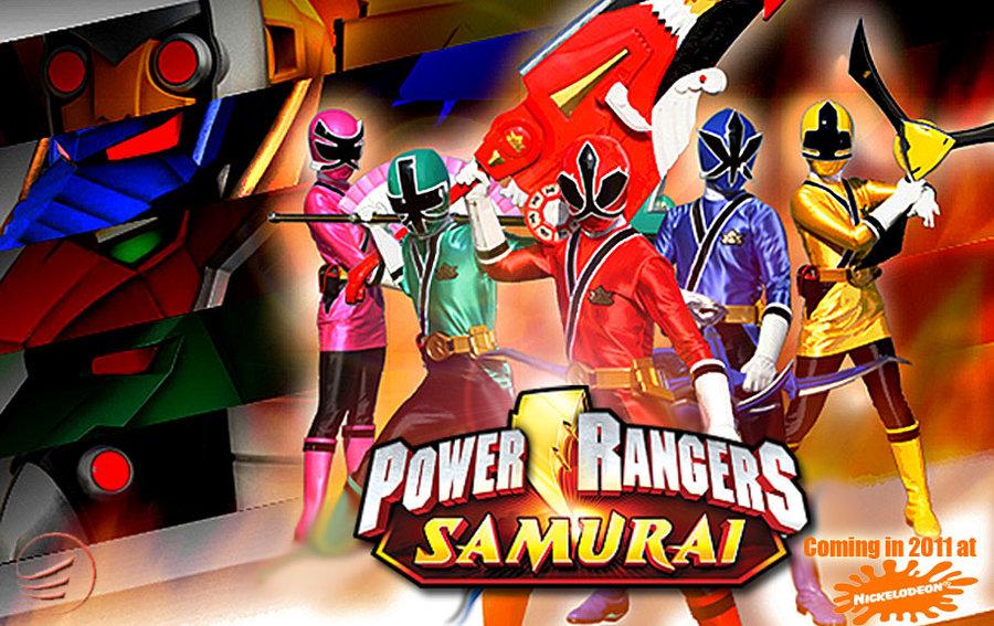 free power rangers samurai games