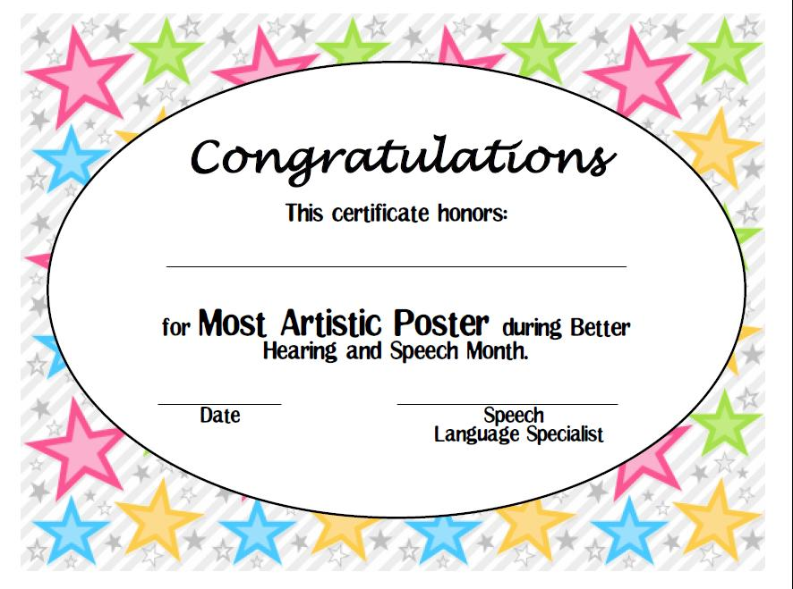 live love speech bhsm info contest printable certificates and a freebie